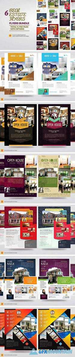REAL ESTATE FLYERS BUNDLE VOL1 2277870