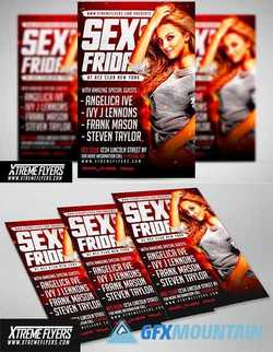 NIGHT CLUB FLYER TEMPLATE 1810055