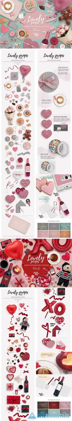 LOVELY STYLING PROPS COLLECTION / Lovely Props Vol.1, 2  2265692 - 2265699