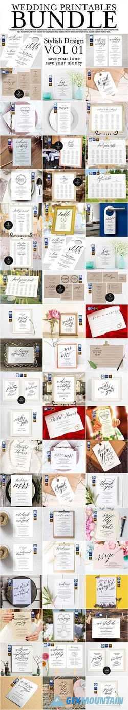 Wedding Printables Bundle Style. 1 2293340