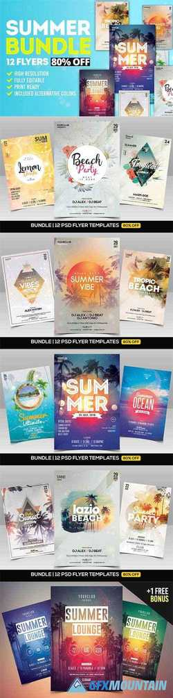 Summer Bundle 12 Flyers 2109142