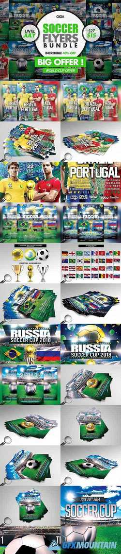 World Soccer Cup 2018 2in1 Flyer 2335181