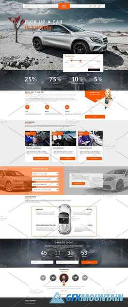 Landing Page for selection of cars 2225759