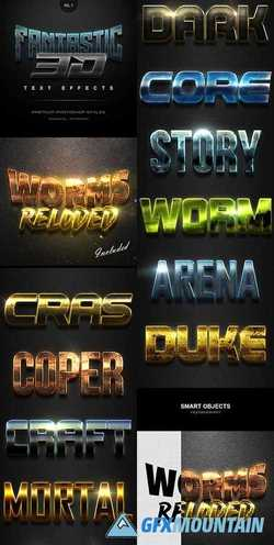 Fantastic 3D Text Effects Vol.7 21540324