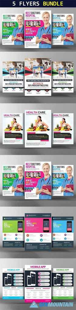Corporate Flyer Bundle 5 in 1 2256668