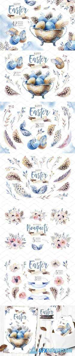 WATERCOLOR EASTER COLLECTION - 2269008