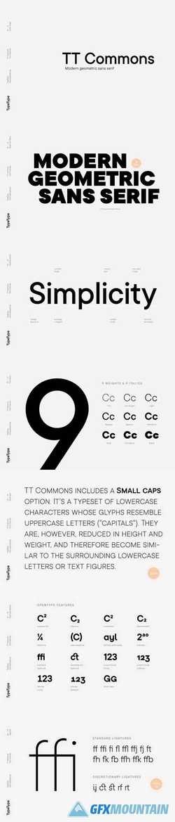 TT Commons Font Family » Free Download Graphics, Fonts