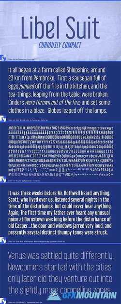 Libel Suit Font Family » Free Download Graphics, Fonts ...