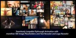 Photos Galaxy - Loopable Flythrough Animation   8192453