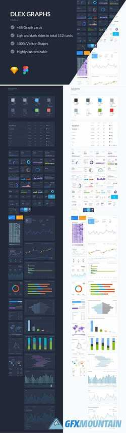 Dlex Graph UI Kit 2339831