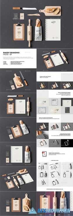 BAKERY BRANDING MOCK-UP - 21644575