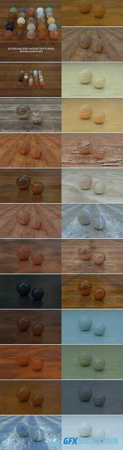 23 Seamless Tileable Wood Textures 858234