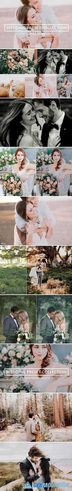 WEDDING LIGHTROOM PRESET COLLECTION 2358289