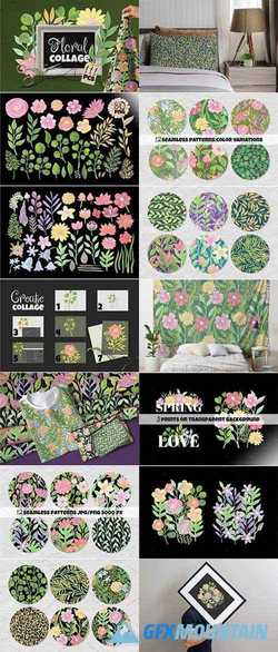 FLORAL COLLAGE CREATOR - 2332411
