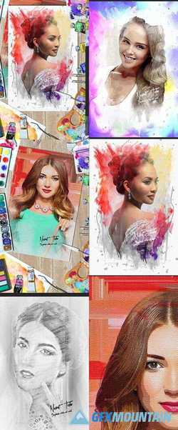 Artistic Photo Manipulation Template 21598418
