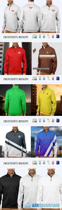 MEN SWEATSHIRTS MOCK-UPS 2355782