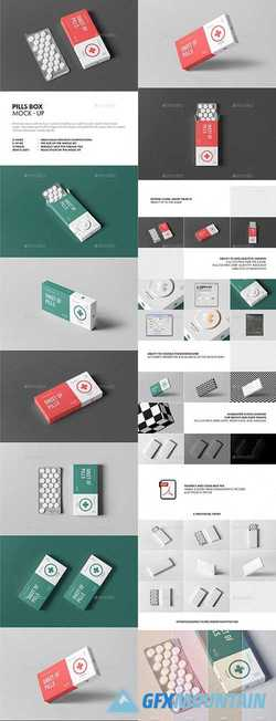 PILLS BOX MOCK-UP - 21711369