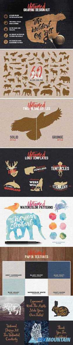 UNTAMED GRAPHIC DESIGN KIT 1573448