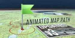 Animated Map Path v.3  17511599