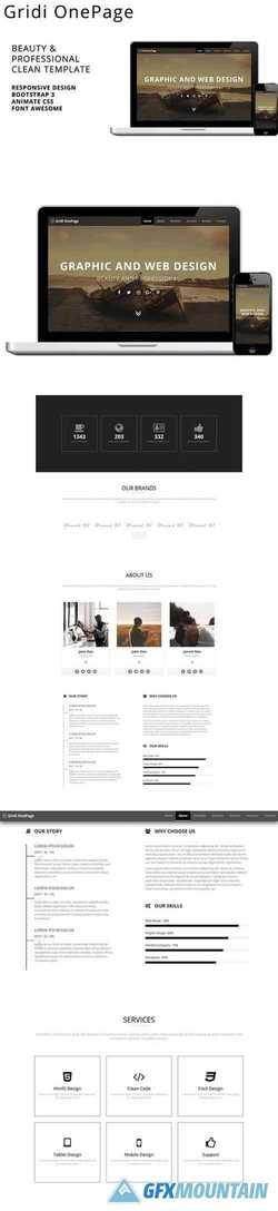 Gridi OnePage 2403323