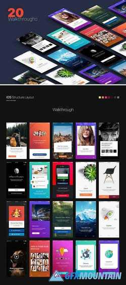 Walkthroughs - Mobile Template UI 1548807