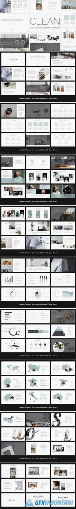 Clean - Creative PowerPoint Template 2458663