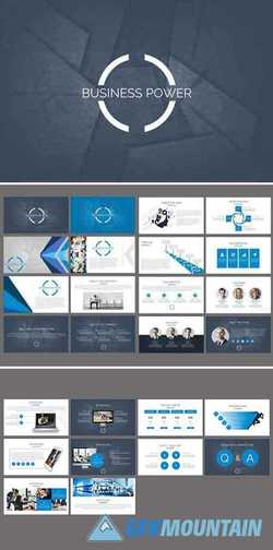Business Power Keynote Template 2458782