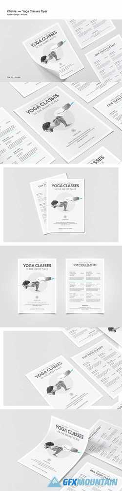 Yoga Classes Flyer 2554667