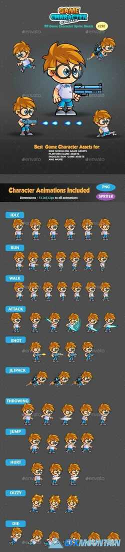 2D Game Character Sprites 290 19168020