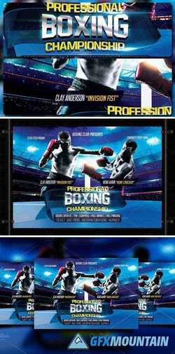 Boxing Flyer 1601700