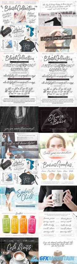 Blush Collective Fonts 2457901