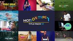 Motion Type - Titles Pack 20825273