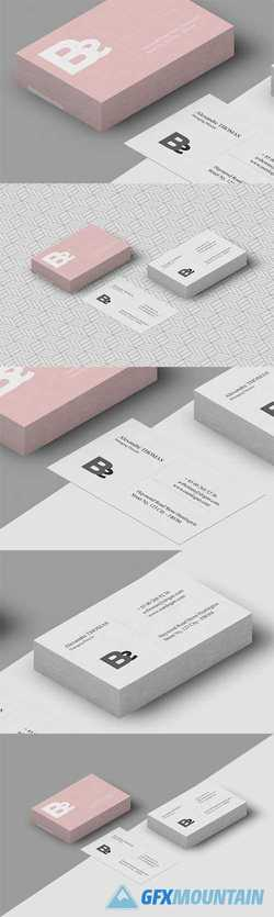 Psd Business Card Mockup 2556016