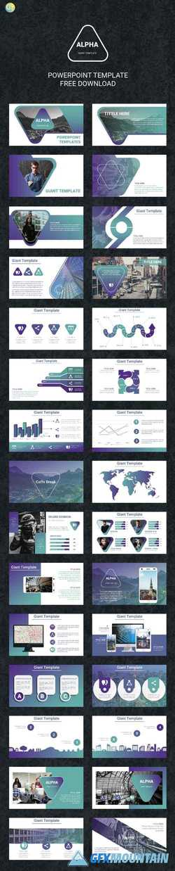 Alpha - Powerpoint Template
