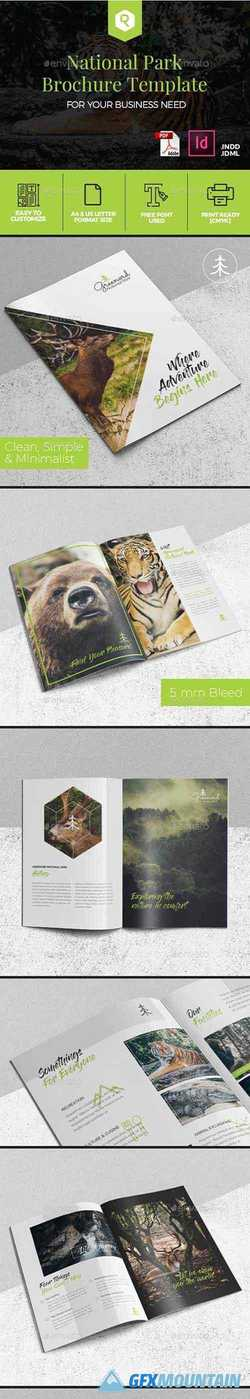 National Park Brochure Template 19814403