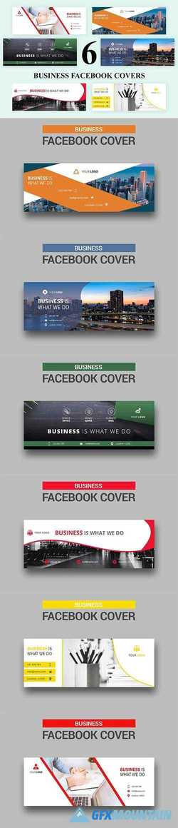 6 Business - Facebook Covers 2735900