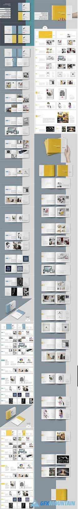 Graphic Design Portfolio Template Bundle