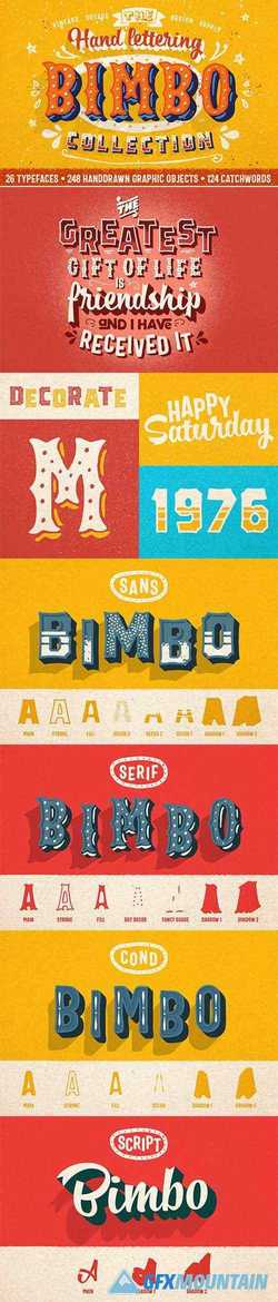 BIMBO Hand Lettering Collection 2753235