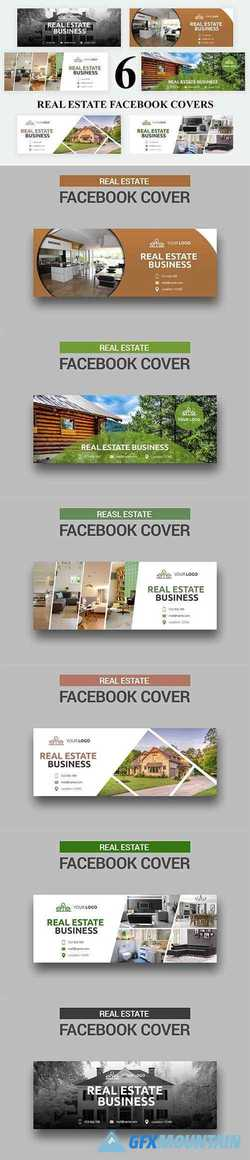 6 Real Estate - Facebook Covers 2735912