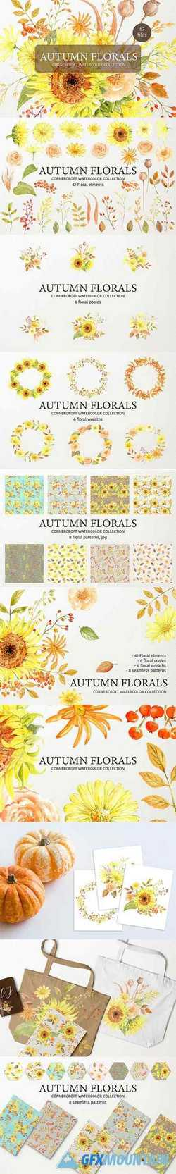 AUTUMN FLORAL COLLECTION - 2840864