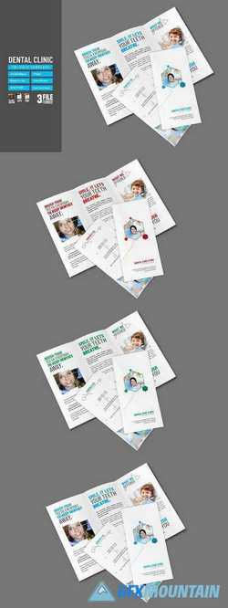 Dental Clinic Tri-Fold 2848643