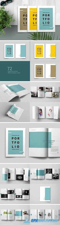Graphic Design Portfolio Template 4