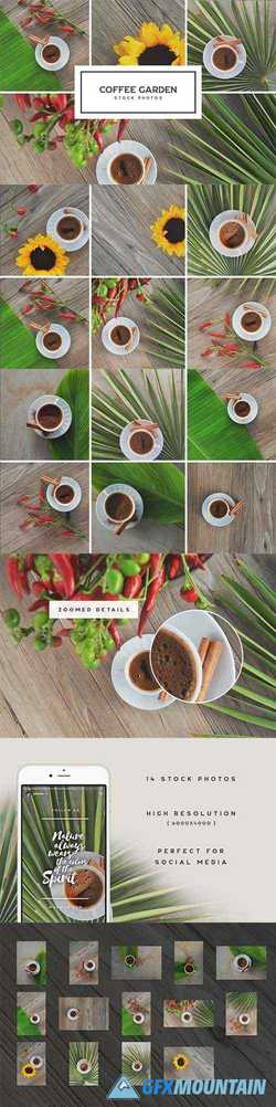 Coffee Garden Photo Bundle 1884717