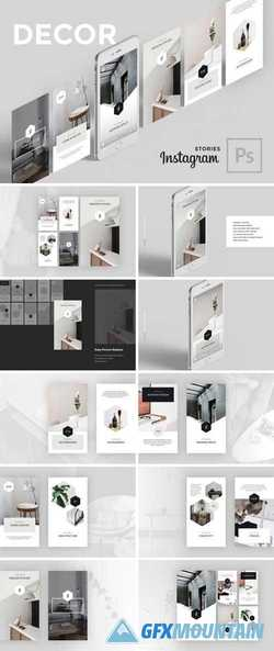 Decor PSD Instagram Stories 2924664