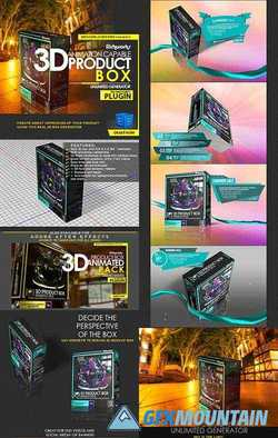 Richworks 3D Product Box For Photoshop 22539559