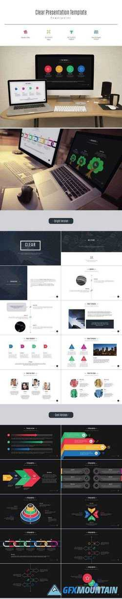 Clear Presentation Template 10950218