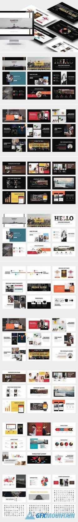 Ganevo : Creative Studio Powerpoint 2931520