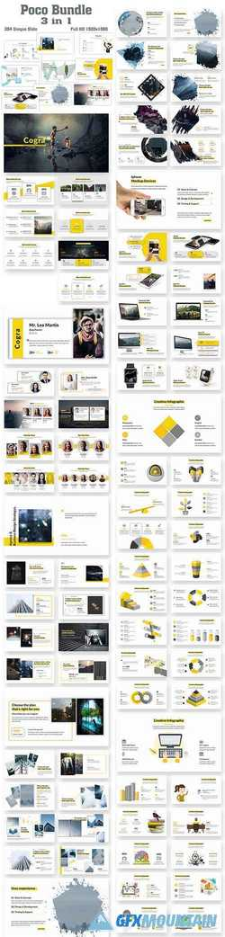 Poco Bundle 3 in 1 PowerPoint Template 22605805