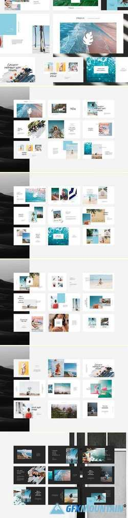 Freesia PowerPoint Template 2968275