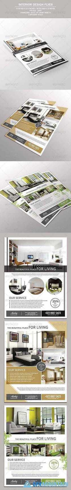 Interior Design Flyer 7520574